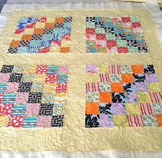 Free motion quilting on my new Juki (my first finished project ...