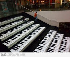 Cool idea for staircase.