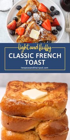 Homemade French Toast, Make French Toast, Easy Baked French Toast, Fluffy French Toast, Perfect French Toast, Healthy French Toast, French Toast Waffles, Brioche French Toast, Cinnamon French Toast
