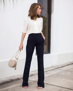 "Stephanie @ The Style Bungalow on Instagram: ""Talking about work attire in today's post on TheStyleBungalow.com (link in bio)  / @liketoknow.it @theory__ www.liketk.it/1MNPC #liketkit #intheory #saksstyle [: @chelsaeanne]"""