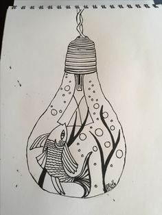 Fish in a bulb