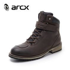 Brand Name: ARCXGender: MenBoot Height: AnkleMaterial: LeatherFeature: motorcycle moto motorcycle riding boots motorcycle boots moto leather motorcycle motocross boots boots motoModel Name: Motorcycle Riding Shoes, Bike Boots, Leather Motorcycle Boots, Riding Boots, Combat Boots, Cow Leather, Leather Boots, Waterproof Motorcycle Boots, Travel Boots