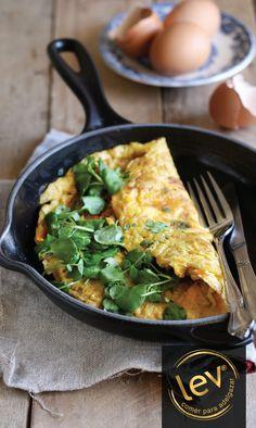 Tortilla de hierbas aromáticas: Una comida rápida y sabrosa para tu día a día. ¡Pruébala!