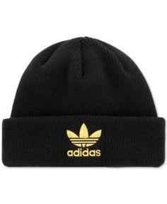 0cfc3581f90d adidas Originals Men's Trefoil Beanie & Reviews - Hats, Gloves & Scarves -  Men - Macy's