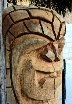 Hand carved Tiki