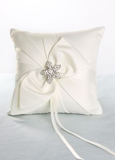 Cute ring bearer pillow
