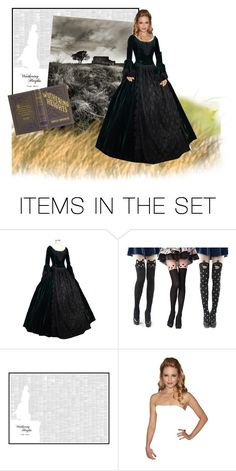 """""""Wuthering Heights"""" by captainsilly ❤ liked on Polyvore featuring art"""