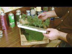 How To Make Realistic Trees - Train Layouts, Wargamming & Dioramas - YouTube