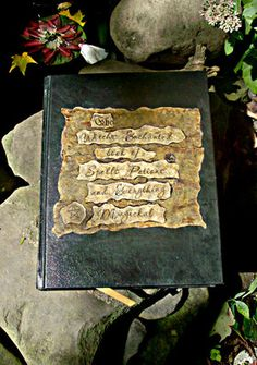 Primitive Witch's Book Of Shadows