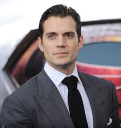 Hunk: Cavill reprised his role as Superman earlier this year in Batman v Superman: Dawn of Justice and is currently filming a Justice League film which is due out next year