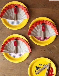 5 Thanksgiving Crafts to do with Kids Friday Craft Fix | Apartment Therapy