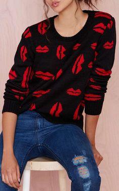 Kissy Kissy Sweater