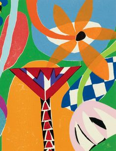 Gillian Ayres, Tivoli, 2011 (detail). Woodcut on Unryu-shi Japanese paper. Paper 93.0 x 107.2 cm / Image 75.8 x 91.0 cm. Edition of 30. ©Alan Cristea Gallery.