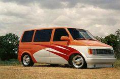 Chevy Astro van..