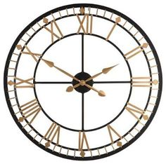 Image result for Premier Housewares Metal Farm Wall Clock