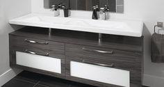 vanité salle de bain Vanity, Bathroom, Design, Projects, Dressing Tables, Washroom, Powder Room, Bathrooms, Makeup Dresser