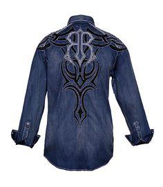 FERDINAND - NAVY- Shirts- Roar Clothing