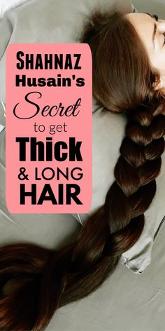Shahnaz Husain Shares The Secret To Get Long Black And Thick Hair #hair #haircare #selfcarebeautytips #selfcaretips #selfcare #healthyhair #longhair #hairgrowth #thickhair #blackhair