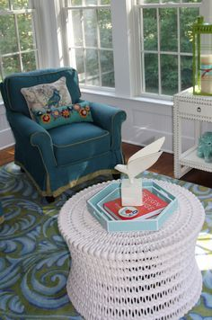 Vivid Hue Home: My Sunroom in the Summer