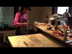 Shawna Moore Painting Studio - YouTube