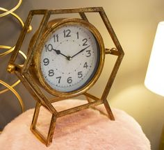 Ophelia & Co. This elegant design will bring sleek style to your space without overwhelming your aesthetic, but it is more than just stylish, It has clean lines, replete with simplicity and minimalism. London Clock, Recycled Brick, Desktop Clock, Brick Molding, White Clocks, Tabletop Clocks, Scandinavian Style, Retro, Alarm Clock