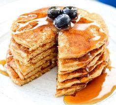 Healthy Greek Yogurt Pancakes | Food Recipes