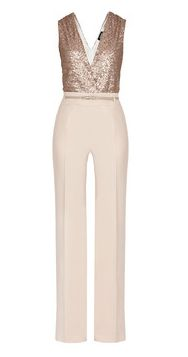 BELLEZZA  Jumpsuit in sequins and stretch cady - sold at MAX & CO
