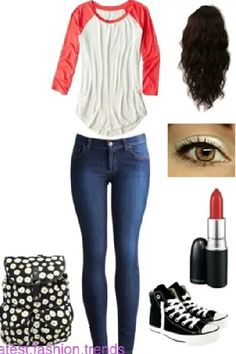 Quater sleeved tee with jeans and black high top converse High Top Converse Outfits, Black High Top Converse, Black High Top Shoes, Black High Tops, Cheap Converse, Converse Shoes, Cute Comfy Outfits, Simple Outfits, Cool Outfits
