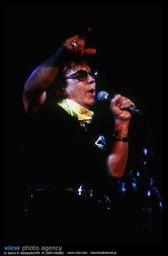 Eric Burdon Live at Rodon Club Athens. 11/1995. Photo: Spiros Katopodis