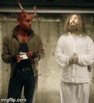 Tobias, Darwin, Devil, Supernatural, Jokes, Guys, Occult, Boys, Lifting Humor