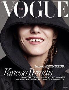 Vanessa Paradis on Vogue Paris December-January 2015.2016 cover