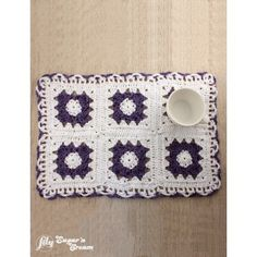 Free Easy Placemat Crochet Pattern
