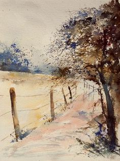Pol Ledent - watercolor 041106