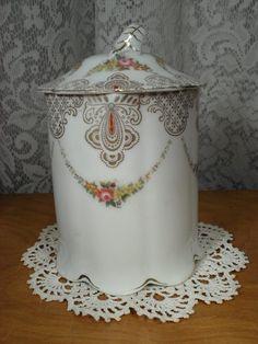 Antique Porcelain Condensed Milk Container Made in Bavaria