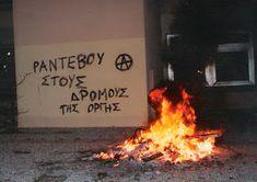 Συνθήματα σε Τοίχους : Αναρχικά - Αντιεξουσιαστικά Greek Quotes, Anarchy, Athens, Truths