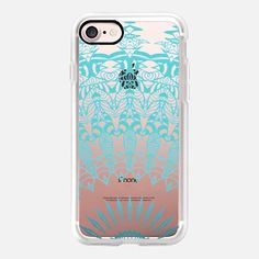 MINT LACE Crystal Clear iPhone Case iPhone 7 Hülle by Monika Strigel | Casetify (DE)  $40   #casetifyiphone7 #iphone7 #iphone7case #monikastrigel  #popular