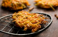 Blair Moser's sweet potato latkes
