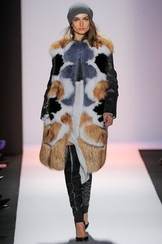 BCBG Max Azria Fall 2013 Ready-to-Wear Fashion Show - Andreea Diaconu