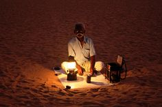 Chennai India - the fortune teller on the beach