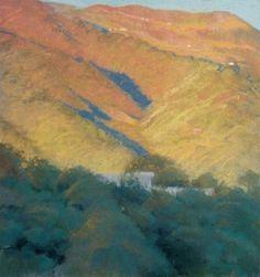 Bill Cone . pastel landscape