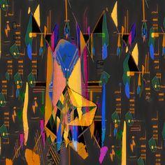 Jérôme Vallet, Le Camembert apostolique (d'après Kandinsky) on ArtStack #jerome-vallet #art