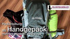 Packanleitung: mit Handgepäck 4,5 Wochen auf Reisen   Asien  Backpackin...
