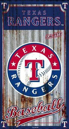 Mlb Texas Rangers, Rangers Baseball, Wall Banner, Corrugated Metal, Metal Signs, Wall Signs, Metal Wall Art, Wall Decor, Man Cave