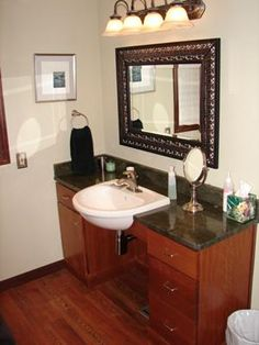 handicap accessible bathrooms    Repinned for the design inspiration of clients and friends of https://stebnitzbuilders.com