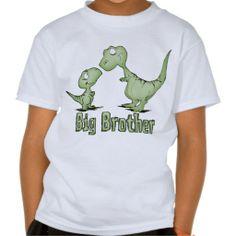Dinosaurs Big Brother Tee Shirts (more styles available) #cartoon #shirt #cartoonshirt