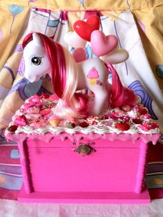 My Little Pony Jewelry Box Endearing My Little Pony Jewelry Box Cotton Candysugarcubecorner $7000 Design Decoration