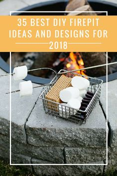 DIY Firepits to make your summer the best one you've ever had. Look through these 35 Best DIY Firepit Ideas and Designs for 2018, choose your favorite and get it done in a day!