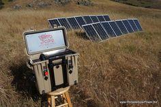 Portable Solar Generator Systems | PortableSolarPower.Biz