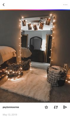 Unique Small Apartment Decorating Ideas On A Budget - Décoration Intérieure Small House Decorating, Small Apartment Decorating, Bedroom Decorating Ideas, Cheap Decorating Ideas, Decorate Apartment, Budget Decorating, Holiday Decorating, Room Ideas Bedroom, Home Bedroom