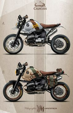 BMW R1100 GS / Caiman Urban & Dirt by Holographic Hammer